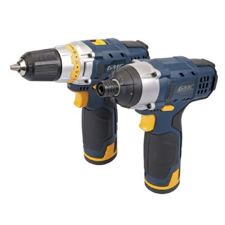 12V Drill Driver & Impact Driver Twin Pack